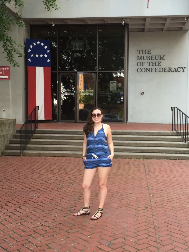 Front of Museum of Confederacy